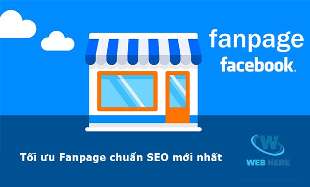 tối ưu fanpage facebook bán hàng chuẩn seo